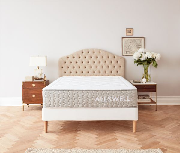 The Allswell Luxe Hybrid 12 Inch Bed in a Box Mattress, Full