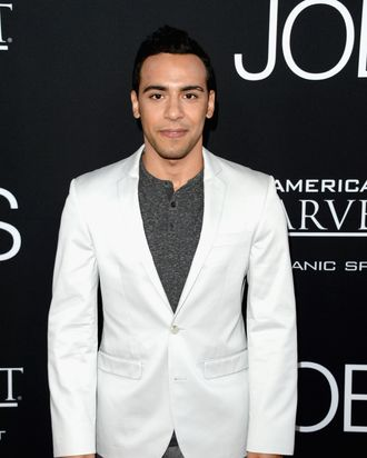 LOS ANGELES, CA - AUGUST 13: Actor Victor Rasuk arrives at the screening of Open Road Films and Five Star Feature Films'