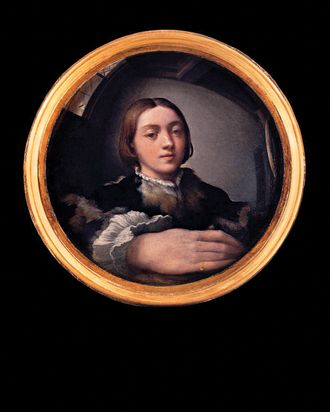 Art At Arms Length A History Of The Selfie Parmigianinos Selfportrait In A Convex Mirror