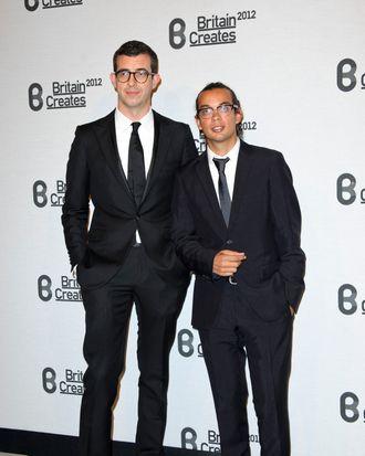 Bally's Michael Herz and Graeme Fidler.