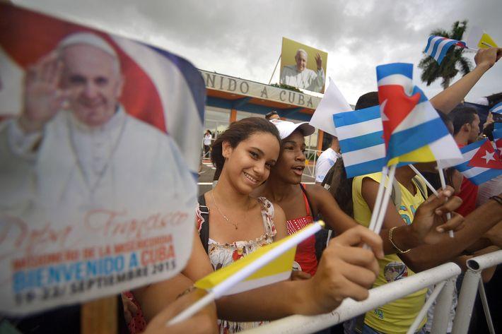 CUBA-POPE-VISIT-FAITHFUL
