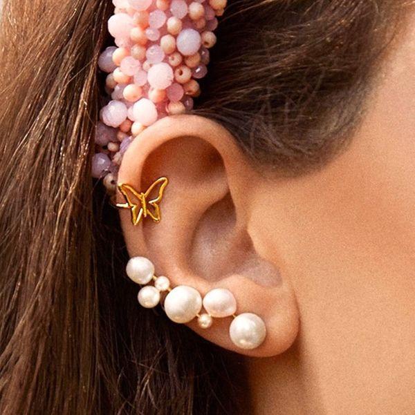 Baublebar Soraida Pearl Ear Crawlers