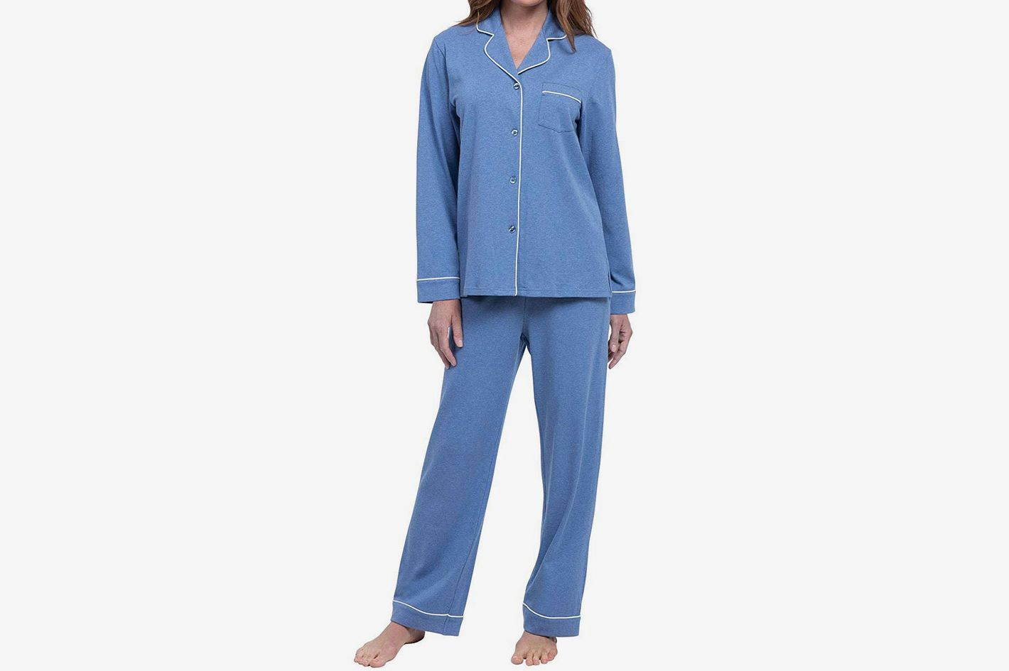 7271b8db707 PajamaGram Pajamas for Women - Cotton Jersey Womens Pajamas