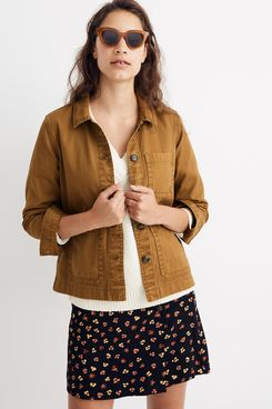 Madewell Garment-Dyed Ashwood Chore Coat