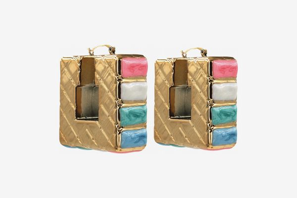 Melody Ehsani Quilted Square Door Knockers