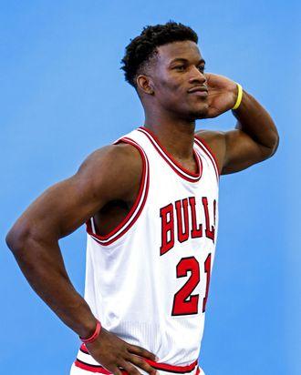 Chicago Bulls media availablility