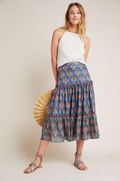 Sachin & Babi Kai Tiered Maxi Skirt