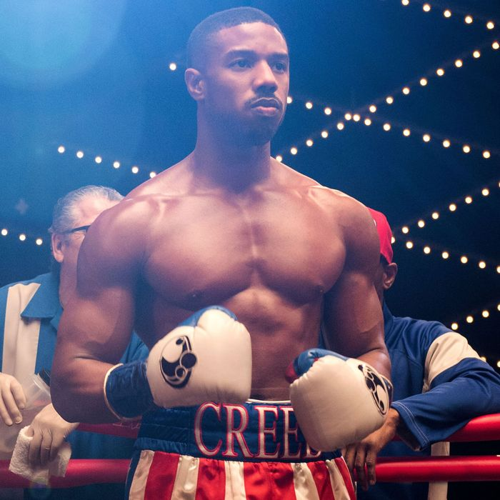 7d7bf1f48c5861 Sylvester Stallone and Michael B. Jordan in Creed II Photo  MGM