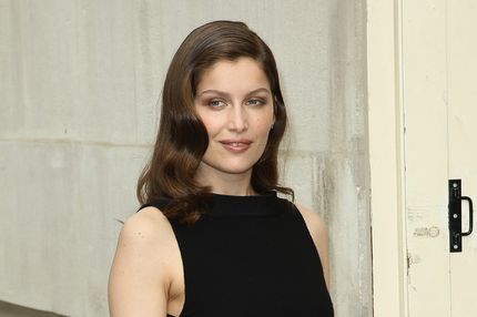 Laetitia Casta attends the Chanel Haute-Couture Show as part of Paris Fashion Week Fall / Winter 2012/13 at Grand Palais on July 3, 2012 in Paris, France.