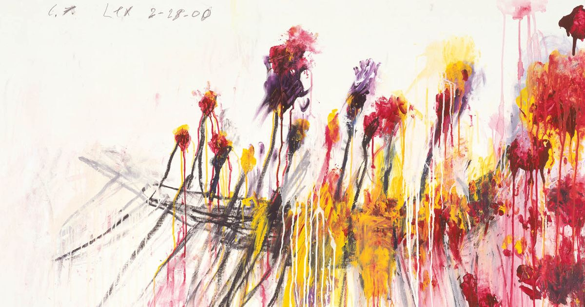 Cy Twombly and the Transporting Power of Art That Barely Uses the Tools of Art