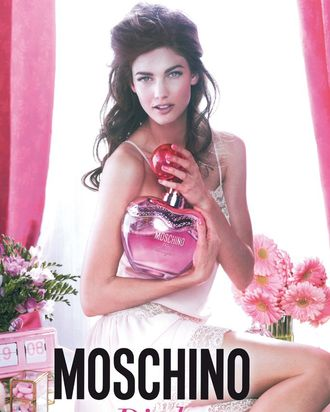 Kendra Spears for Moschino.