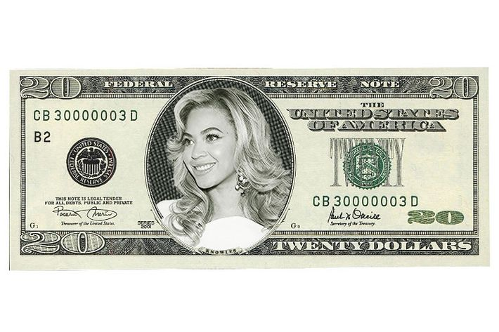 She'd look just as good on a $10 bill.