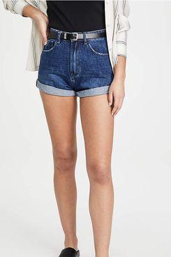 One Teaspoon Women's Dakota Bandits High Waist Denim Shorts