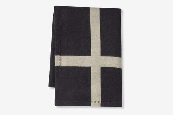 Williams Sonoma Home Cashmere and Wool Equestrian Throw