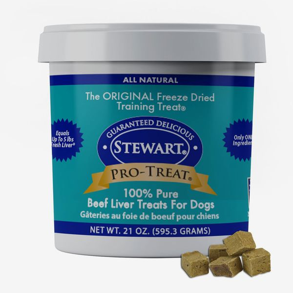 Stewart Pro-Treat Beef Liver Freeze-Dried Raw Dog Treats