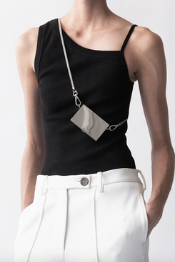 Peter Do Asymmetrical Rib Tank