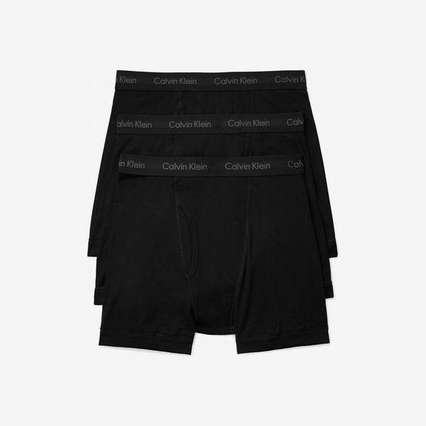 Calvin Klein Stretch Boxer Briefs (3-Pack)