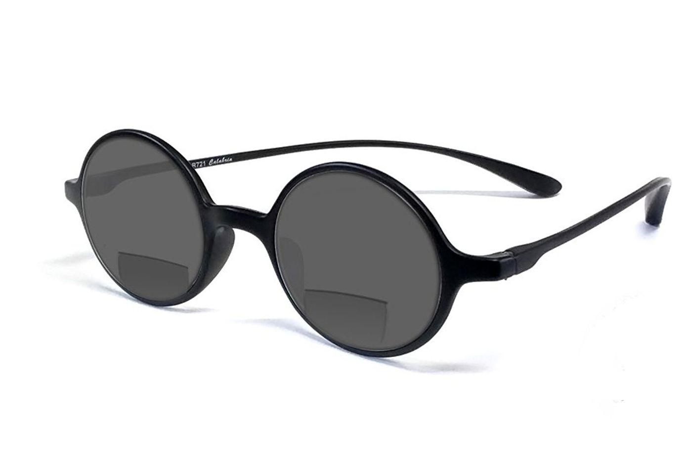 Calabria 721SB Flexies Round Sun Bi-Focal Reading Glasses
