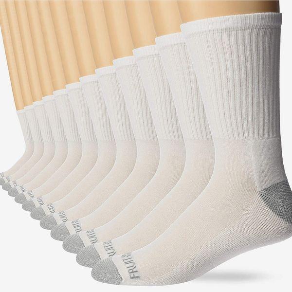 Fruit of the Loom Men's Socks, 12-pack