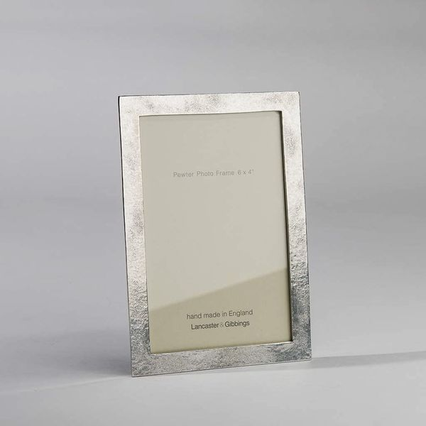 Lancaster and Gibbings No 1 Sandstone Handmade Pewter Photo Frame (3.5 x 3.5 (9 x 9cm))