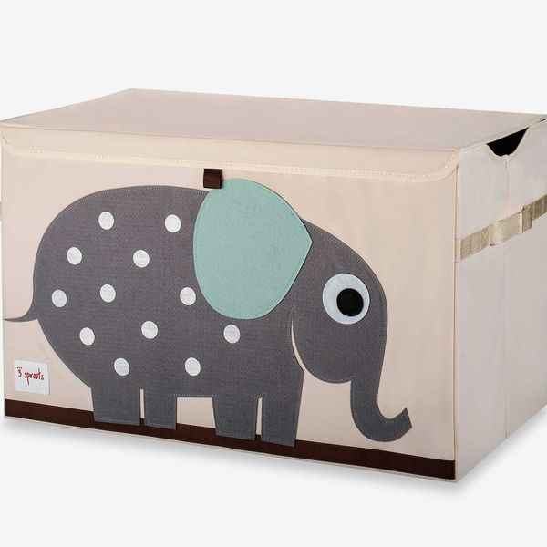 3 Sprouts Toy Chest in Elephant