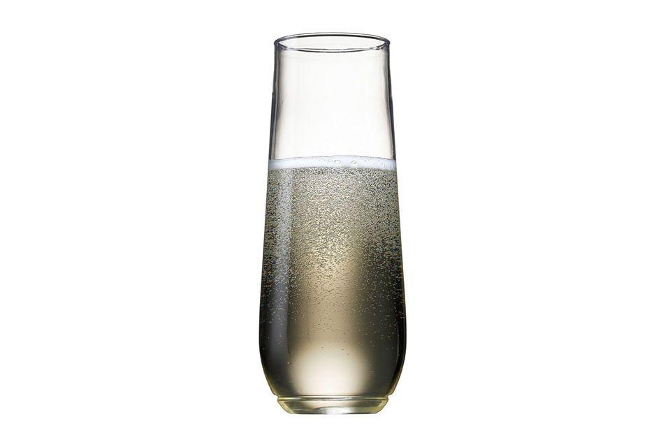Tossware Shatterproof Champagne Glasses