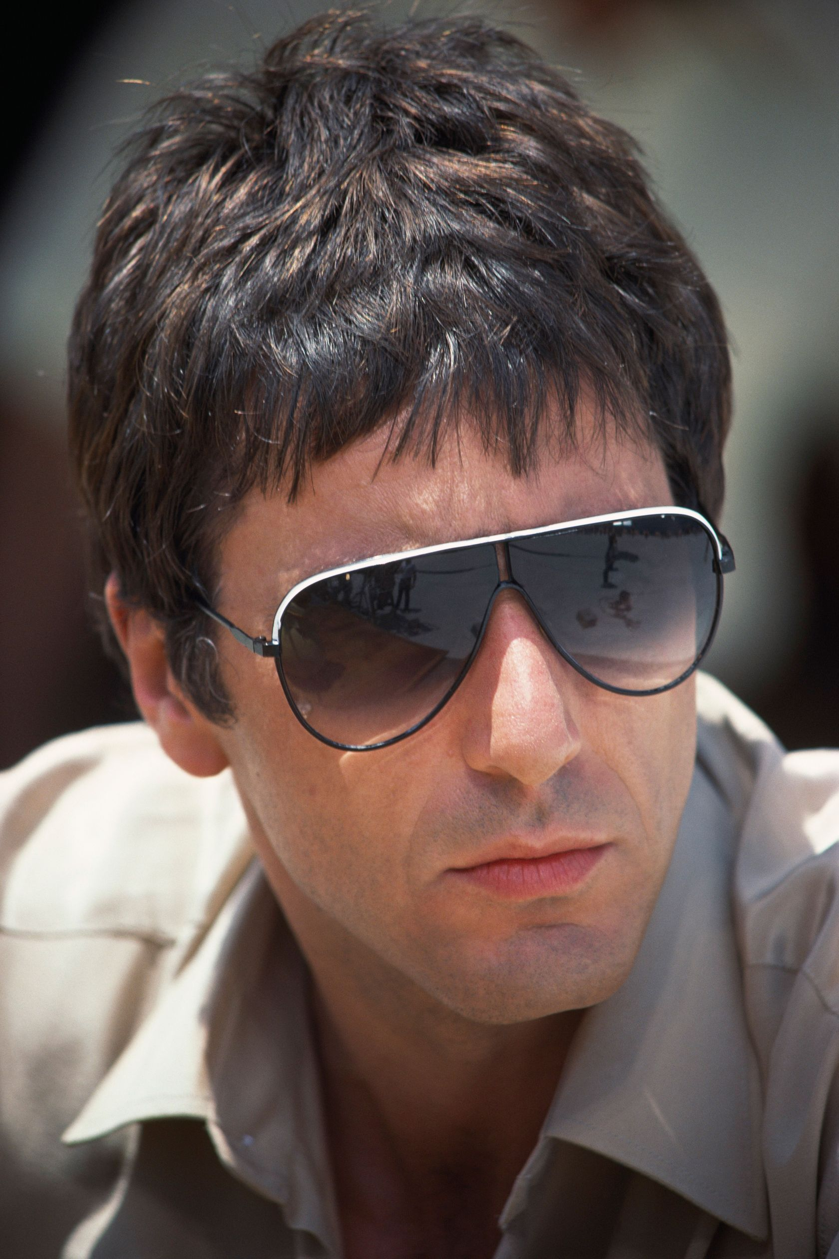 4c08d88a52 50 Most Iconic Sunglasses of All Time Al Pacino s Flashy Scarface Aviators