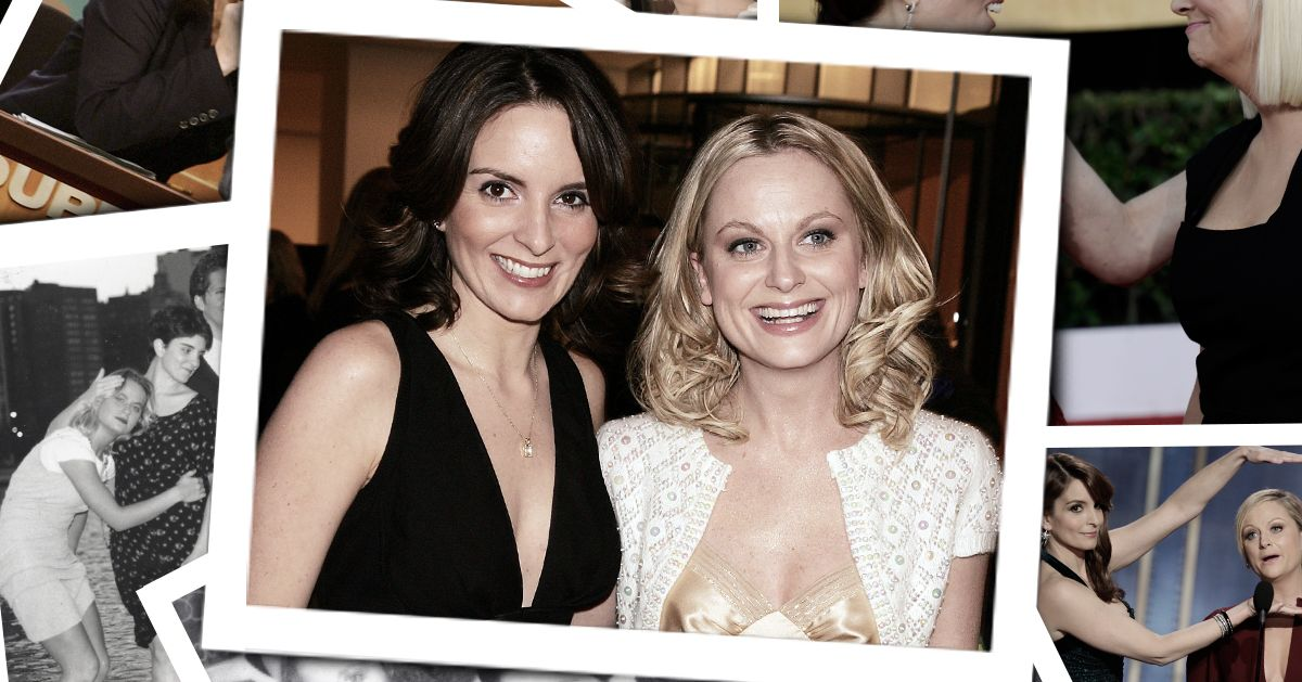 The History of Tina Fey and Amy Poehler's Best Friendship