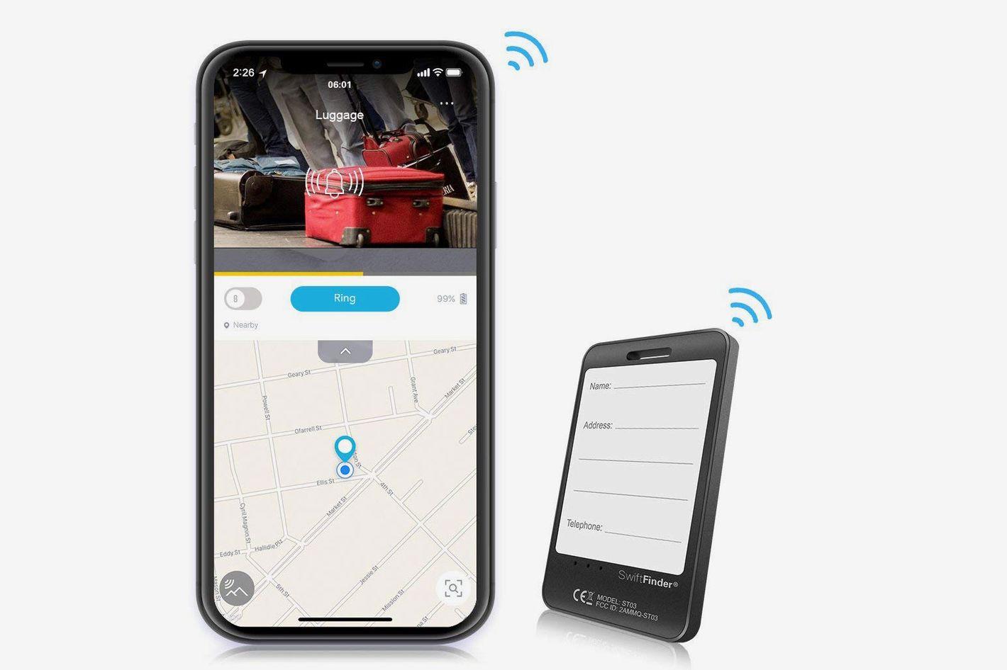 Bluetooth Luggage Tracker