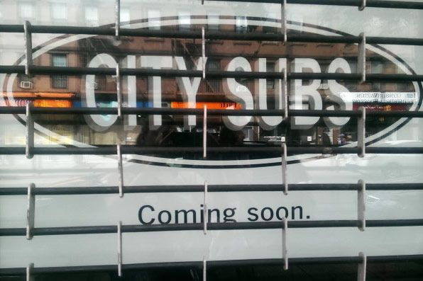 Mysterious 'City Subs' Sign Gives Brooklynites Hope Their Favorite Sandwich Shop Will Return