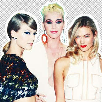 Taylor Swifts Bff Karlie Kloss Hangs Out With Katy Perry