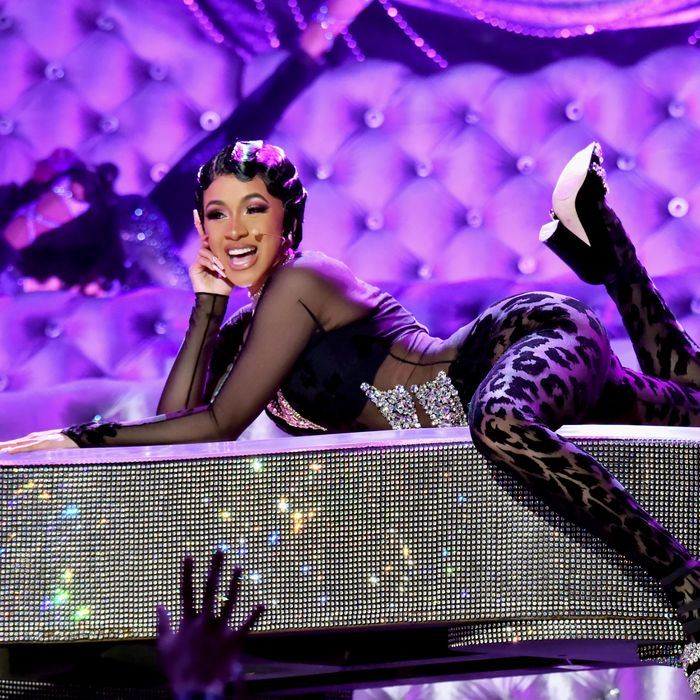 Cardi B Performing: 2019 Grammys: The Highs And Lows
