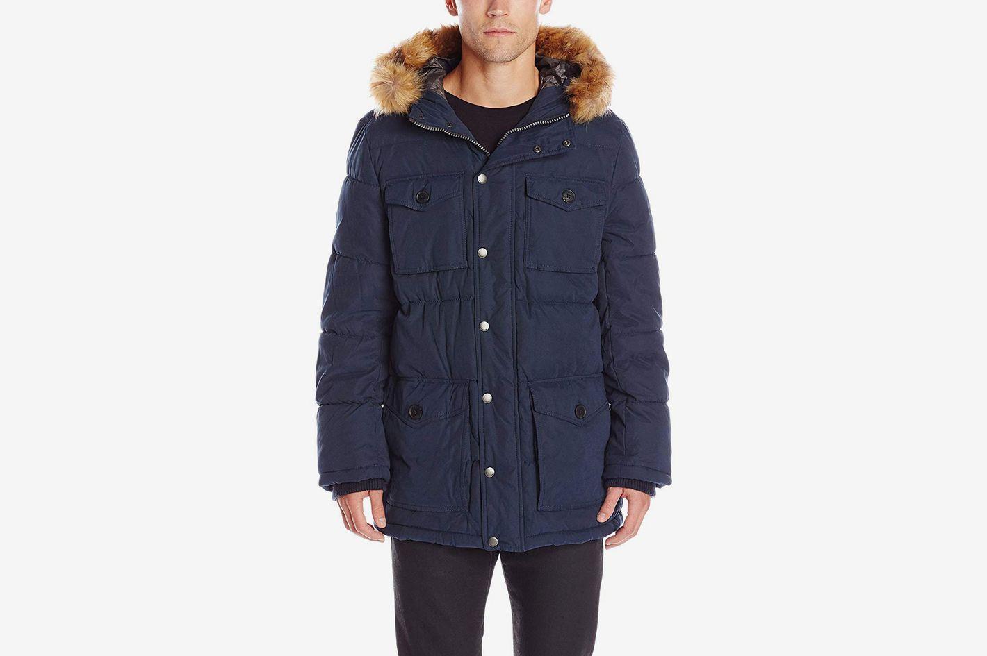 Tommy Hilfiger Men's Micro Twill Parka Coat