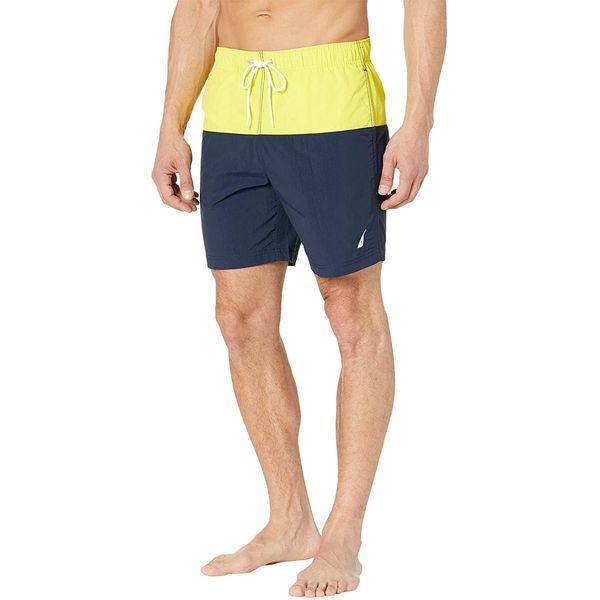 Nautica New Dual-Block Swim Shorts