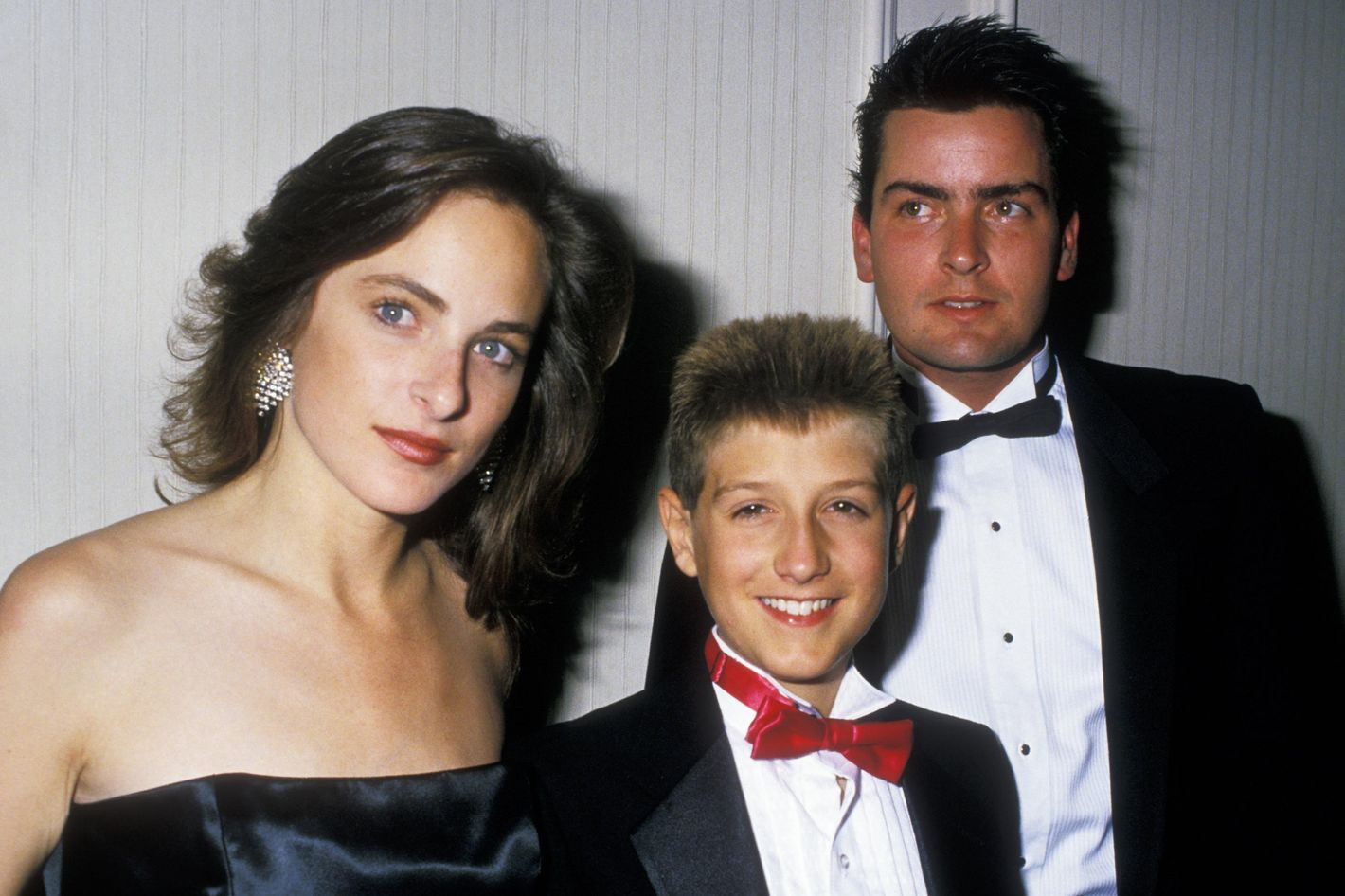 Ryan white with charlie sheen in 1988 thecheapjerseys Choice Image