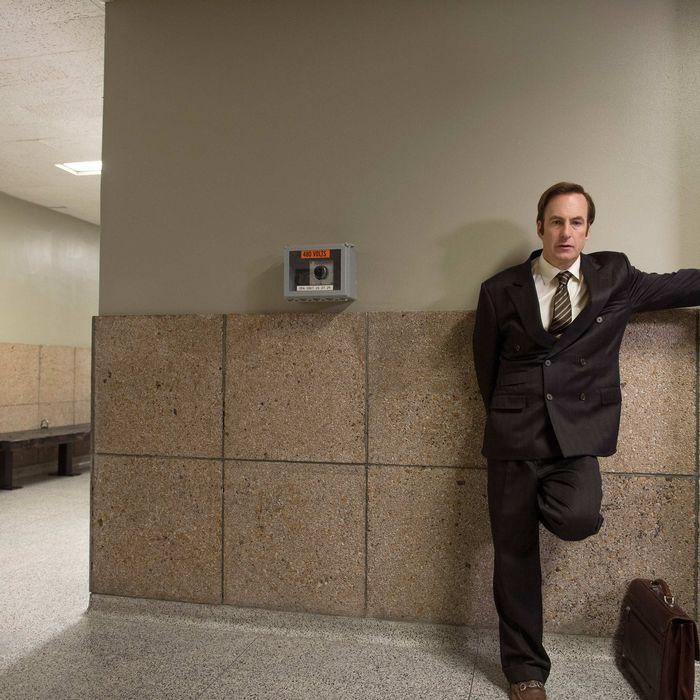 Bob Odenkirk as Saul Goodman - Better Call Saul _ Season 1, Episode 4.