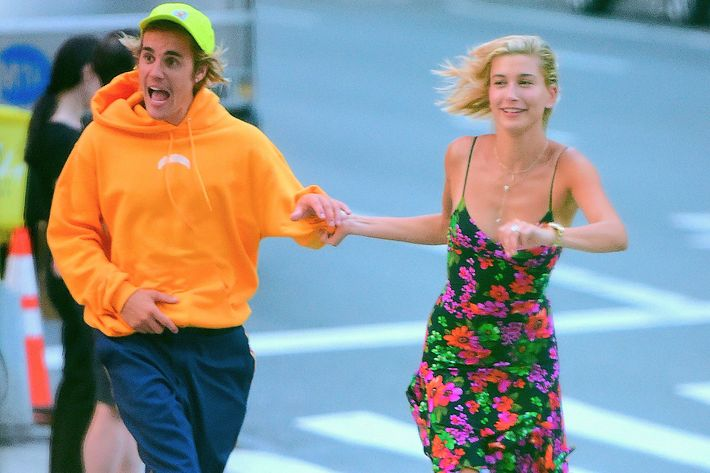 Justin Bieber and Hailey Baldwin.