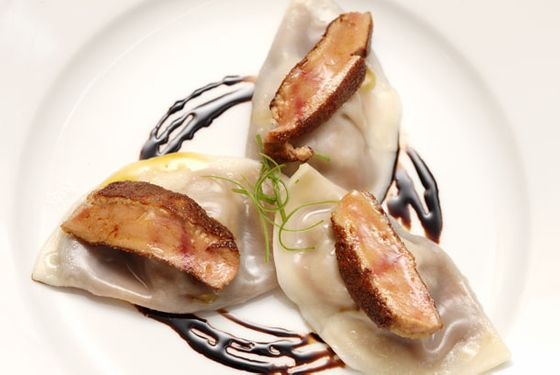 "<a href=""http://nymag.com/listings/restaurant/annisa/"">Annisa</a>    <i>13 Barrow St.; 212-741-6699; $18</i>        One of chef Anita Lo's most famous dishes, the little dumplings have been on Annisa's menu since long before the restaurant's overhaul in 2010. Even today they're as strong an argument for a trip to the restaurant as they were a decade ago."