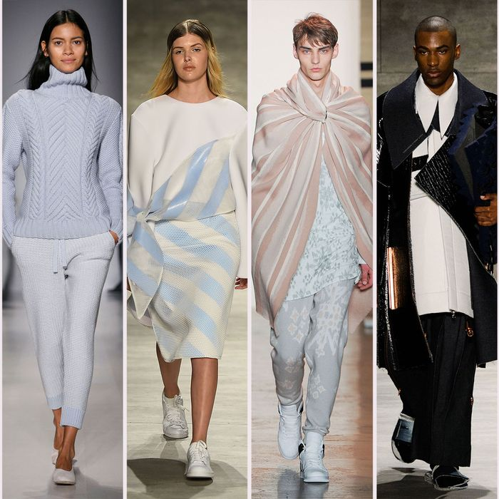 Fall 2015 looks from Ryan Roche, Orley, Andrea Jiapei Li, Baja East, Ximon Lee, and Agi & Sam.