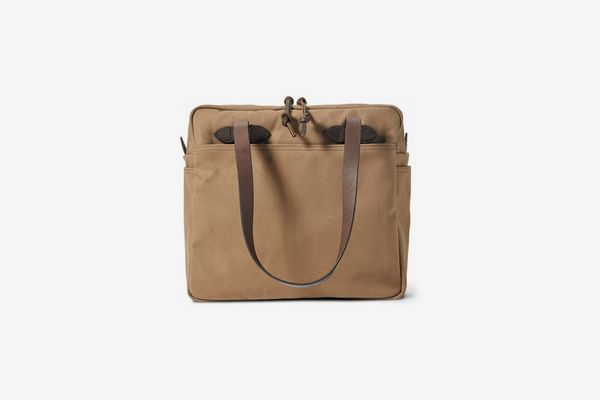 Filson Rugged Twill Tote Bag with Zipper