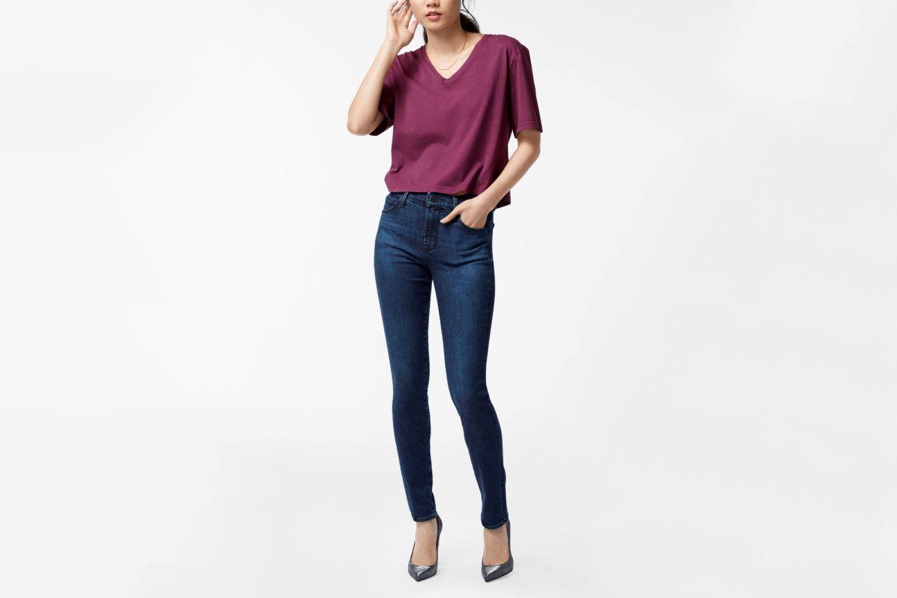 Maria High-Rise Super Skinny in Commit