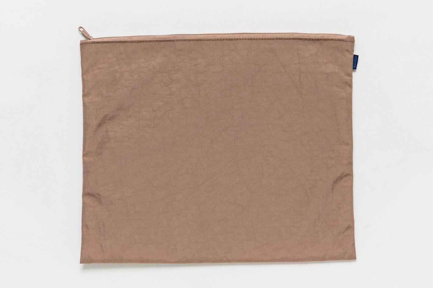 Large Flat Zip Pouch