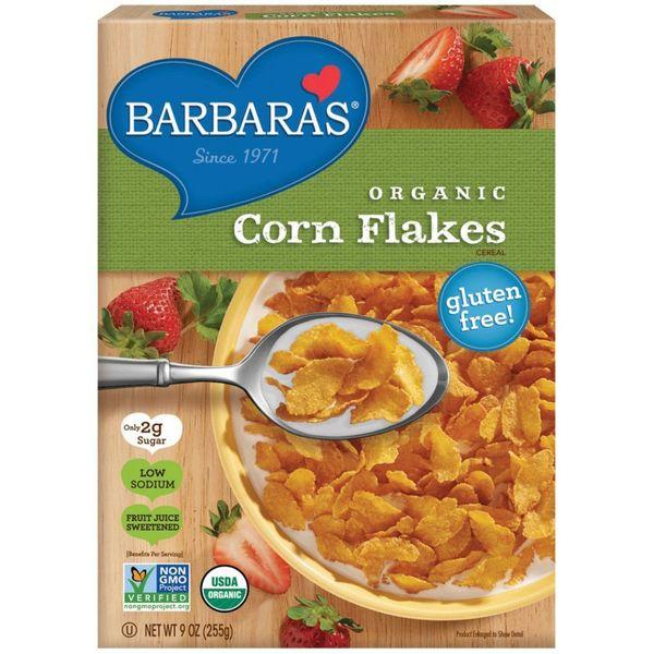 Barbara's Bakery Organic Corn Flakes