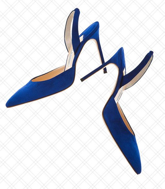 "<i></i>  <i></i>  Mules and slingbacks — how very doyenne.    <i>$595 at <a href=""http://www.neimanmarcus.com/product.jsp?index=0&masterId=&itemId=prod146300193&cmCat=cat000000cat000141cat000149cat000209&parentId=cat000209"">Neiman Marcus</a></i>"