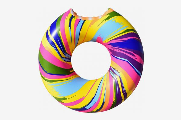 Cooluli Rainbow Swirl Donut Float
