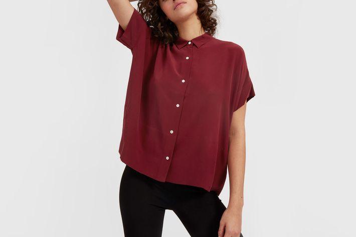 Everlane Square Silk Shirt Review