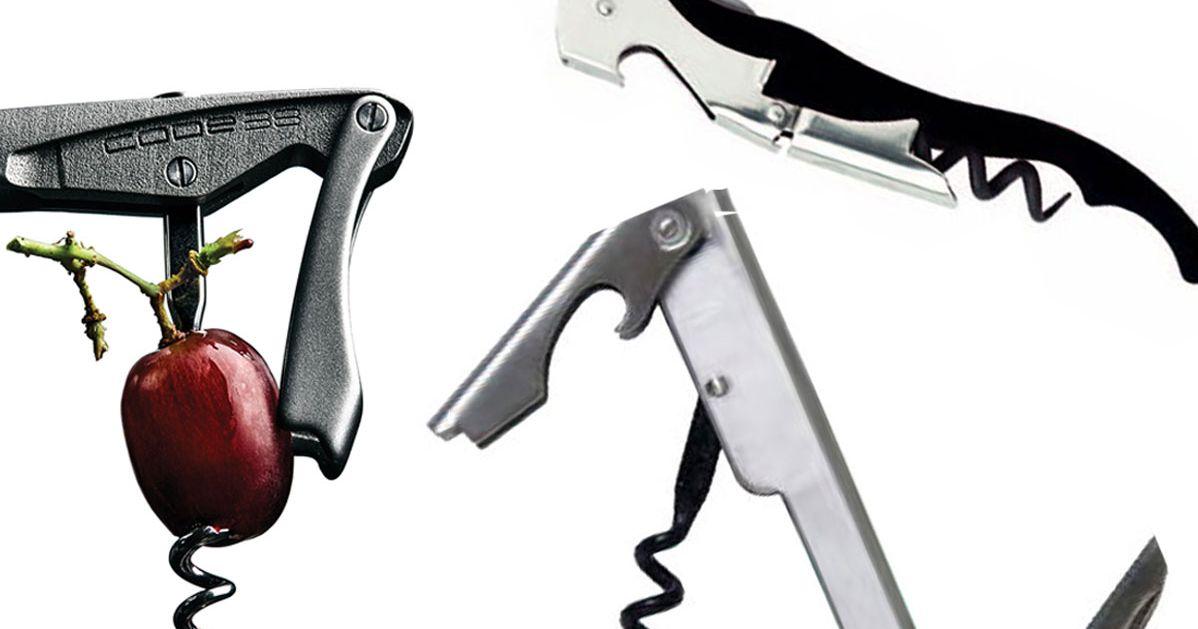 The Best Wine Opener Is an Ergonomic Stainless-Steel Australian Corkscrew