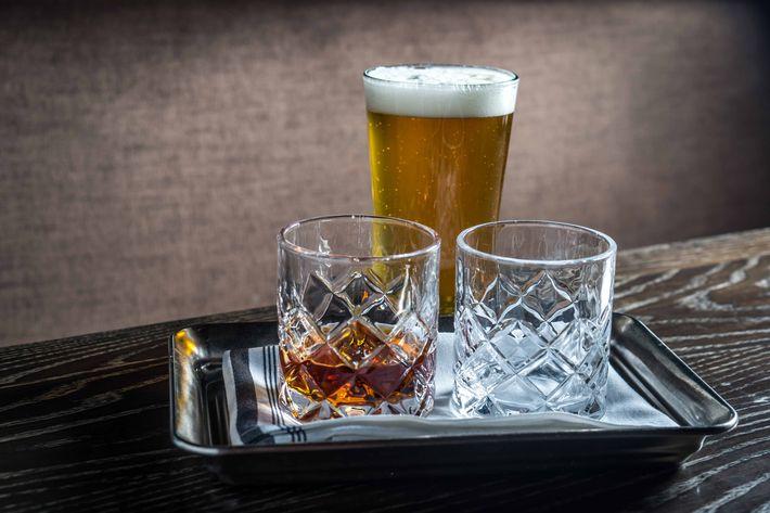 Bitter citrusy on bittersweet: Single Cut Half Stack IPA with Amaro Montenegro ($20).
