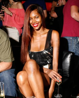 Jessica White attends the Jared Evan