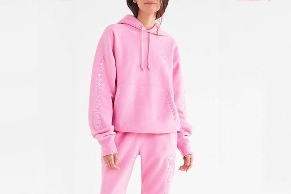 Champion & UO Reverse Weave Embroidered Hoodie Sweatshirt